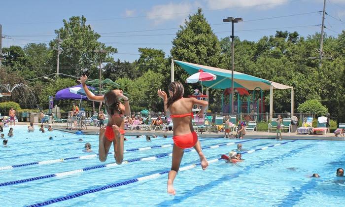 Geneva Park District - Geneva: $19 for Admission for Four to Geneva Park District's Sunset Pool (Up to $48 Value)