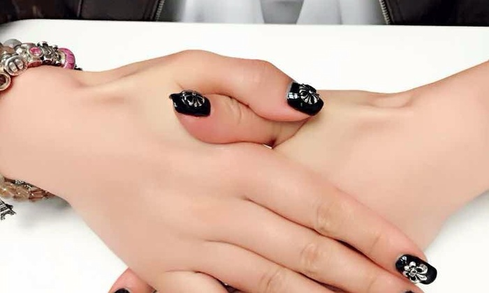 Lt Nails And Hair - South Lake: A Manicure with Nail Design from LT NAILS & SPA (55% Off)