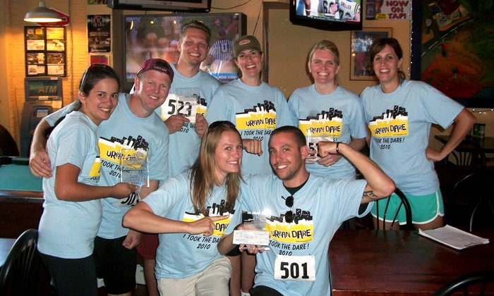 Urban Dare - Bar Louie: $45 for an Urban Dare Adventure Race for a Two-Person Team (Up to $90 Value)