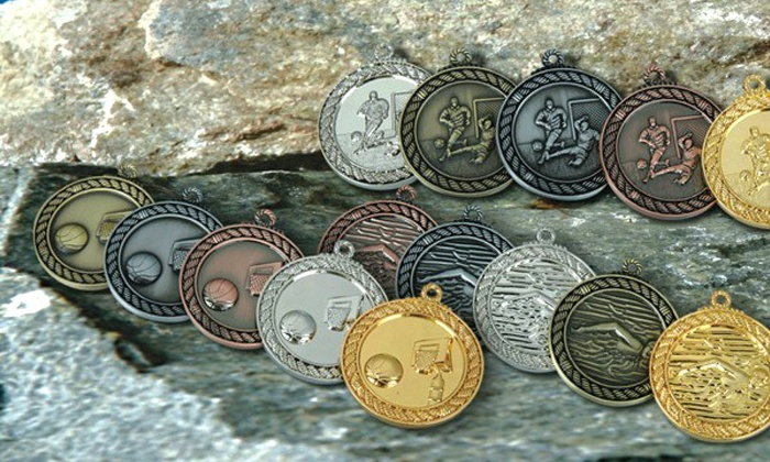 Express Medals - South Windsor: Medals and Medal Engraving from Express Medals (50% Off). Two Options Available.
