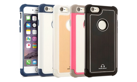 Gear Beast GearAluminum Dual-Layer Hybrid Case for Apple iPhone 6 with 4.7