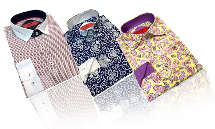 c0d5bc4dc Elie Balleh Milano Italy Boys' Slim-Fit Dress Shirts