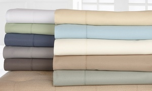 1,000-Thread-Count Wexley Home Cotton-Rich Sheet Set