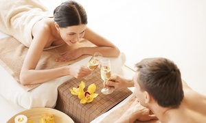 Cazha: Sauna voor twee personen naar keuze met duomassage bij Cazha Beauty & Health Center