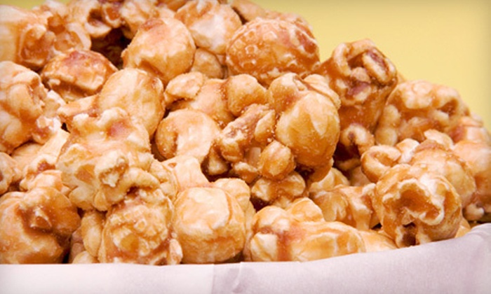 Top Hat Kettle Corn, LLC - Greater Arlington: $7 for Two Medium Bags of Popcorn and One Large Bag of Peanuts at Top Hat Kettle Corn, LLC ($15 Value)