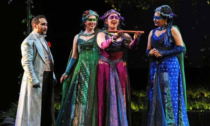 """The Magic Flute""  - Multiple Locations: ""The Magic Flute"" on October 9 or 13"