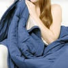$29 for Two Reversible Comfy Throws