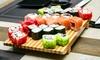 Akakiko Running Sushi - Erlangen: 20, 30 oder 40 Teller Sushi aus dem Running Sushi Angebot von Akakiko Running Sushi ab 9,90 € (bis zu 53% sparen*)