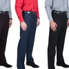 Men's Pleated Dress Pants with Belt