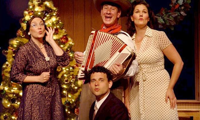 """Sanders Family Christmas"" Play - Arrow Rock Lyceum Theatre: ""Sanders Family Christmas"" Play for Two or Four at Arrow Rock Lyceum Theatre (Up to 53% Off)"