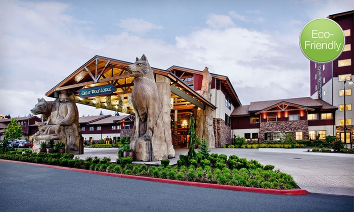 Great Wolf Lodge Charlotte/Concord - Concord, NC: Two-Night Stay with Water-Park Passes and Lunch at Great Wolf Lodge Charlotte/Concord in Greater Charlotte, NC