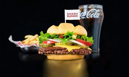 American Food at Smashburger (Up to 36% Off). Two Options Available.