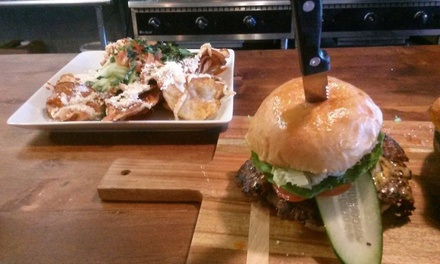 Up to 40% Off Upscale Burgers and American Food at Tutus Burger El Paso