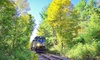 Saratoga & North Creek Railway - Thurman Train Station: North End Local Summer Train Ride for Two or Four from Saratoga & North Creek Railway (Up to 42% Off)