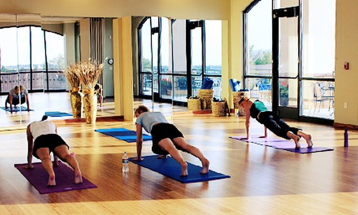 iThrive Yoga - Parker: 10 Classes or Year of Classes for One, or One Month of Classes for a Couple at iThrive Yoga (Up to 70% Off)