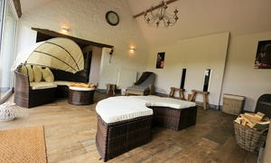 Authentic: 3 uur privé sauna met cava, tapas en all-in dranken voor twee personen bij Authentic