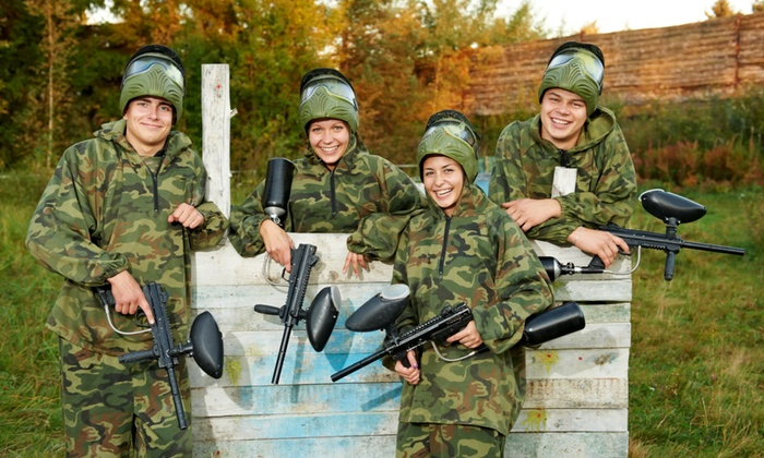 PaintballTickets.ca - Windsor: 5 or 10 Paintball Outings at Participating Fields from PaintballTickets.ca (Up to 58% Off)
