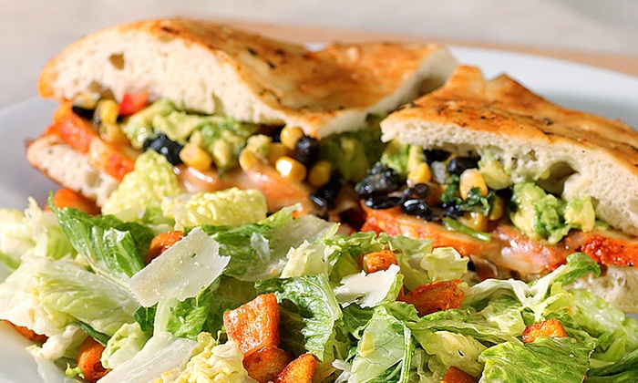 Stone Oven - Stone Oven: The Oaks Mall: $12 for Gourmet Sandwiches and Sides for Two at Stone Oven ($20 Value)