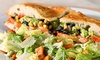 Stone Oven - Stone Oven: The Oaks Mall: $12.50 for Gourmet Sandwiches and Sides for Two at Stone Oven ($20 Value)