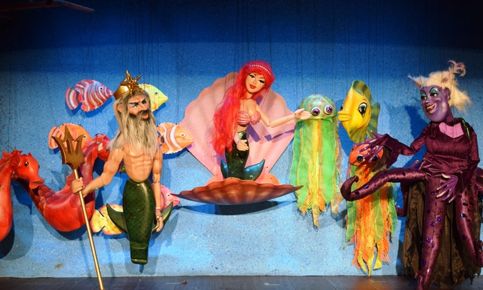 """""""The Little Mermaid"""" - Geppetto's Theater: Le Theatre de Marionette Presents """"The Little Mermaid"""" through September 6 (Up to 44% Off)"""