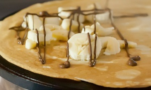 46% Off at Coffee & Crepes at Coffee & Crepes, plus 6.0% Cash Back from Ebates.
