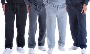 LeeHanton Men's Soft Straight-Leg Sweatpants (S-5XL)