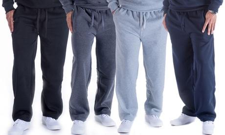 LeeHanton Men's Soft Straight-Leg Sweatpants (S-5XL)