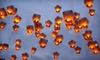 Spirit of '76 - Rollingwood: 10 Regular or Heart-Shaped Sky Lanterns at Spirit of '76 Fireworks (Half Off)