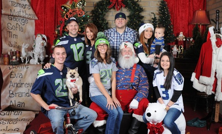 $29 for a Santa Photo Shoot with Digital Images on CD at Everett Santa Photos ($65 Value)