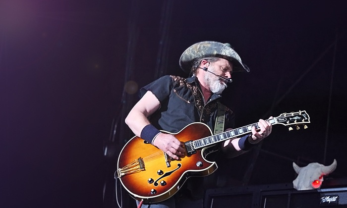 Ted Nugent - DTE Energy Music Theatre: $15 to See Ted Nugent at DTE Energy Music Theatre on Saturday, July 19 (Up to $40.20 Value)