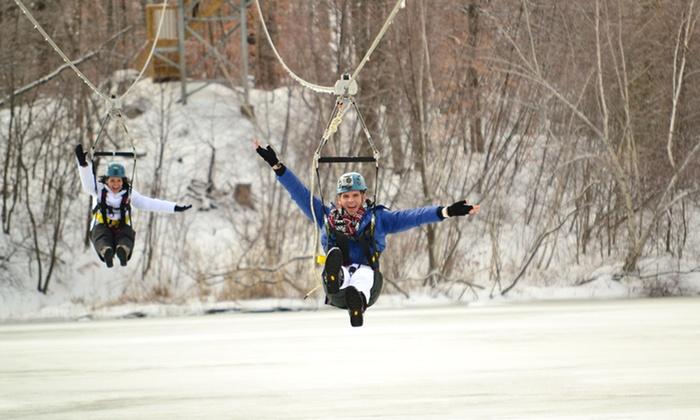 Zoom Ziplines - Zoom Zipline Mountain Creek: Two-Hour Zipline Experience for One, Two, or Ten at Zoom Ziplines (Up to Half Off)