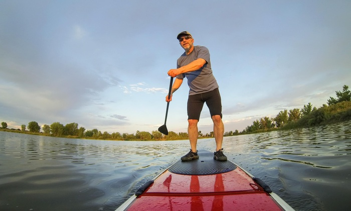 Valley Wake Park - Abbotsford: Up to 52% Off Stand Up Paddle Boarding at Valley Wake Park