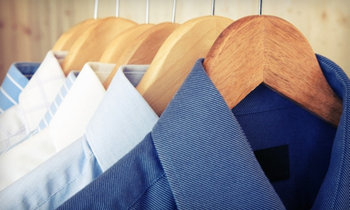 Lapels Dry Cleaning - Multiple Locations: Dry-Cleaning Services at Lapels Dry Cleaning in Brick or Freehold Township (Half Off). Four Options Available.