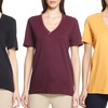 Left Coast Tee Women's Short-Sleeve V-Neck