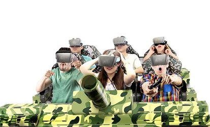 5D Experience for Two, Four, or Six at VR Centre (Up to 56% Off)