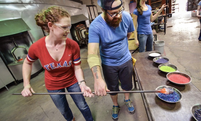 Glassblowing Class - Carlyn Ray Designs: Blow a Glass Bowl in a Glassblowing Workshop
