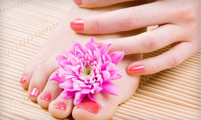Escape Your Day Salon - Bonny Brook: One or Three Basic Manicures and Spa Pedicures at Escape Your Day Salon in Carlisle (Up to 65% Off)