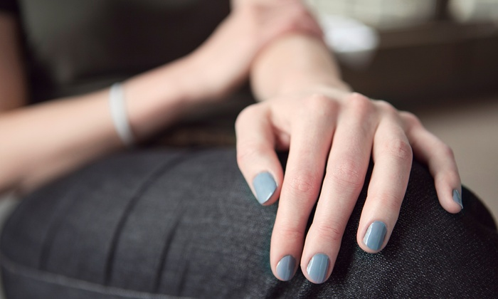 Salon Milano Nails - Intrigue Salon and Spa: Manicure or Shellac Manicures at Salon Milano Nails (Up to 54% Off). Three Options Available.