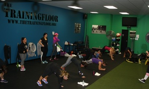 The Training Floor: $85 for $189 Groupon — The Training Floor