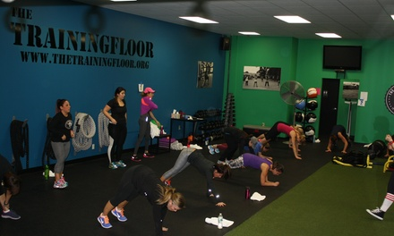 $85 for $189 Groupon — The Training Floor