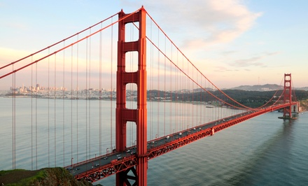 Golden Gate Bridge and Beach Tour for 2, 4, or 6 from Urban Adventures (Up to 55% Off)