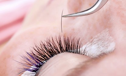image for Individual Eyelash Extensions with Optional Eyebrow Shape and Tint at The Salon North End (Up to 51% Off)