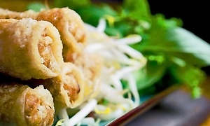 The Elephant Walk - Cambridge: $31for $49.95Worth of French and Cambodian Cuisine at The Elephant Walk