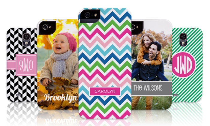 Custom Phone, Tablet, and Laptop Cases: $19.99 for $45 Worth of Personalized Phone, Tablet, or Laptop Cases from The Case Studio.