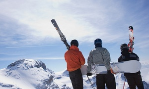 Royal Board Shop: Gold or Platinum Tune-Up for Skis or a Snowboard at Royal Board Shop (50% Off)