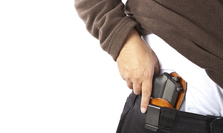 Concealed-Handgun Training Class for One or Two from On Target CHL (Up to 51% Off)