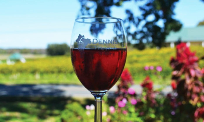 Dennis Vineyards Winery - Endy: $14 for a Complimentary Wine Tasting, 2 Glasses of Wine, and a Take-Home Bottle (Up to $28.50 Value)