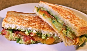 Melt Factory Grilled Cheese: $9 for $15 Worth of Food and Drinks at Melt Factory Grilled Cheese