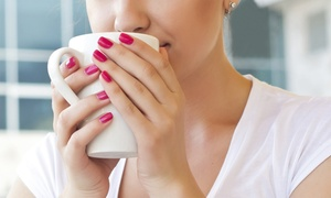 Vanity Lash Lounge: One or Three Shellac Manicures at Vanity Lash Lounge (Up to 57% Off)
