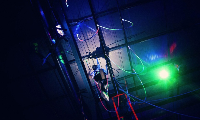 Bodies in Motion - Southeast Boise: Cosmic Ropes Course or Ninja Warrior Experience for Two or Four at Bodies in Motion (Up to 52% Off)
